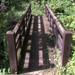 白岩の滝には不動明王が祀られていることからつけられた不動橋