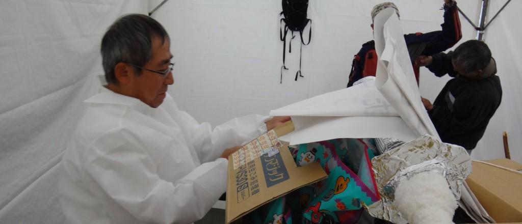 こちらはオール手作りの、ヤマトタケルノミコトの衣装で変身中。