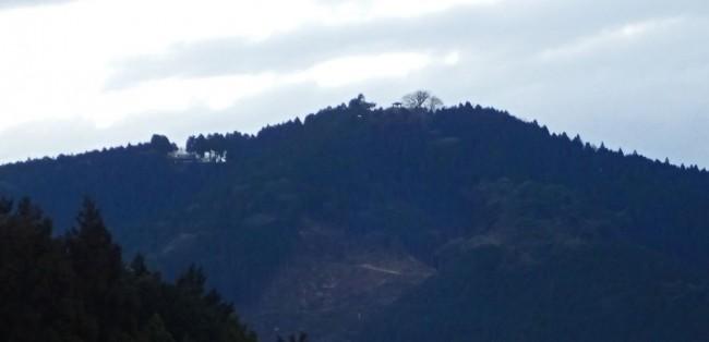 麻生平についたころは、西の空がまだ明るく、日の出山頂の東屋がシルエットでくっきり見え、左の稜線上の東雲山荘にはかすかに灯火が見えた。山荘は今夜から、日の出山山頂の御来光登山者による火災の警戒をのため、消防団の詰め所となる。