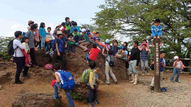 子供は高いところが大好きだ。登れそうなものがあれば岩でも気でも登りだす。